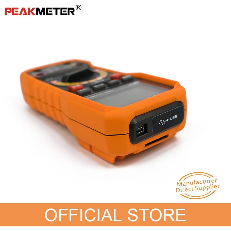 Oficialus PEAKMETER PM8236 automatinis rankinis diapazono - Matavimo prietaisai - Nuotrauka 2