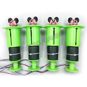 Image 3 - Arcada diy kit completo com placa mãe e 8 cabeças batendo, fonte de alimentação, distribuidor para bater sapo/mouse martelo máquina jogo