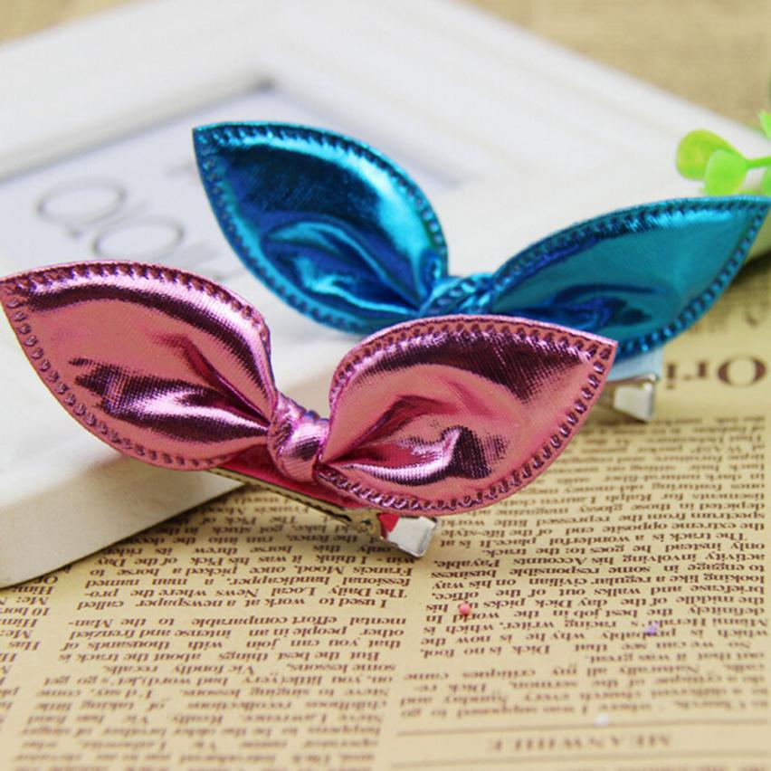 Accessories 2019 New Style Hot Sale Hair Bands Headband Kids Hair Accessories Cute Single Sequin Rabbit Ears Rubber Hair Clips Baby Girl Children Hairpins Moderate Cost