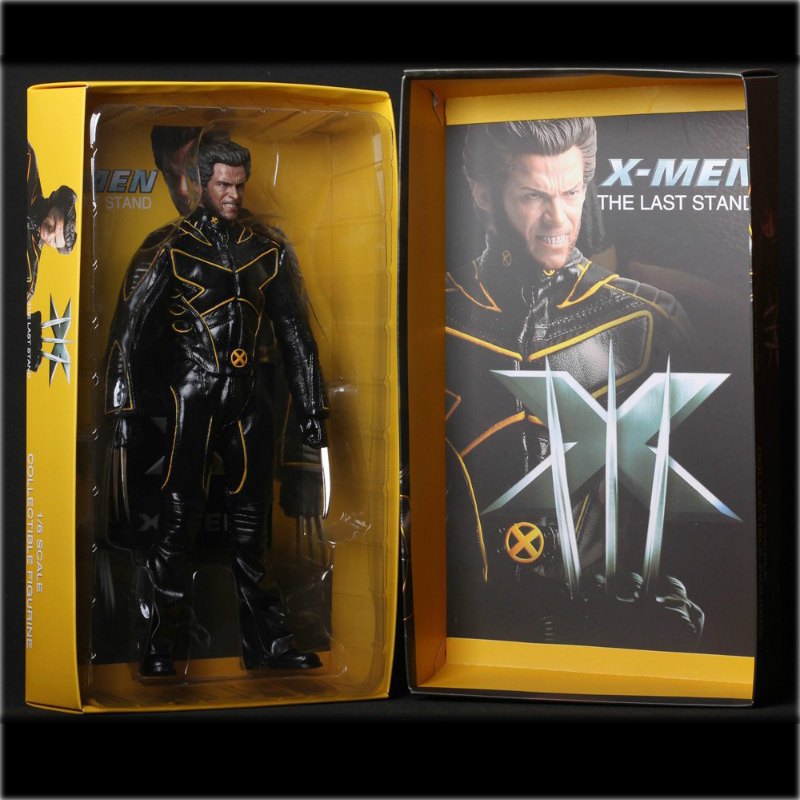 X-Men The Last Stand Wolverine Super Hero Captain America Marvel Anime Pvc action & toy figures Model Collection cazenoveyi