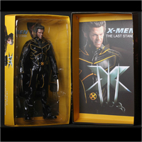X Men The Last Stand Wolverine Super Hero Captain America Marvel Anime Pvc action & toy figures Model Collection