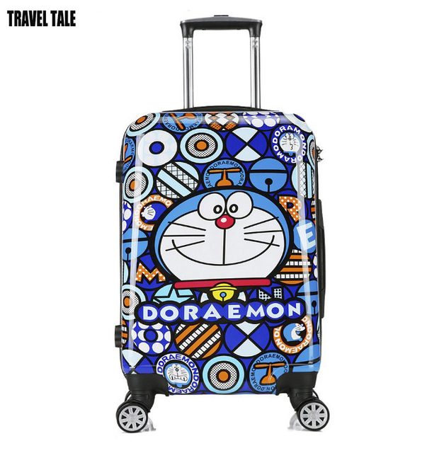 "8ba68588678fc YESO Trolley Travel Bag Hand Luggage 20 inch 32L Rolling Duffle Bags  Waterproof Oxford Suitcase Wheels. TRAVEL TALE 18 ""20 ""24 "" inch hard shell  Doraemon ..."