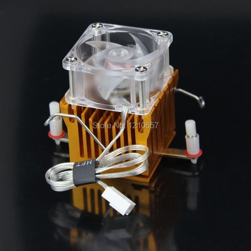 5 pieces lot Aluminium Heatsink Fin Cooler Fan For PC Northbridge Chipset Cooling