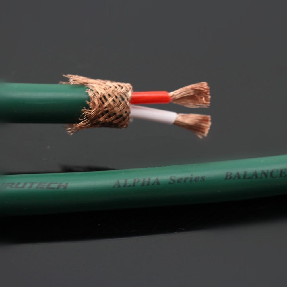 Pair Furutech FA-220 PCOCC CD interconnect audio cable Rhodium-plated XLR Plug