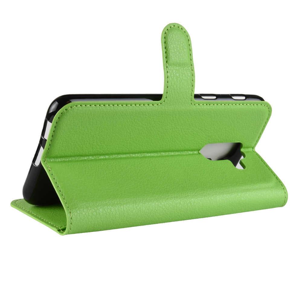 Baiscxst جلدية فاخرة فليب حقيبة لهاتف سامسونج A6 زائد 2018 حامل كتاب محفظة حقيبة لهاتف سامسونج J8 زائد غطاء كوكه على الهاتف أكياس