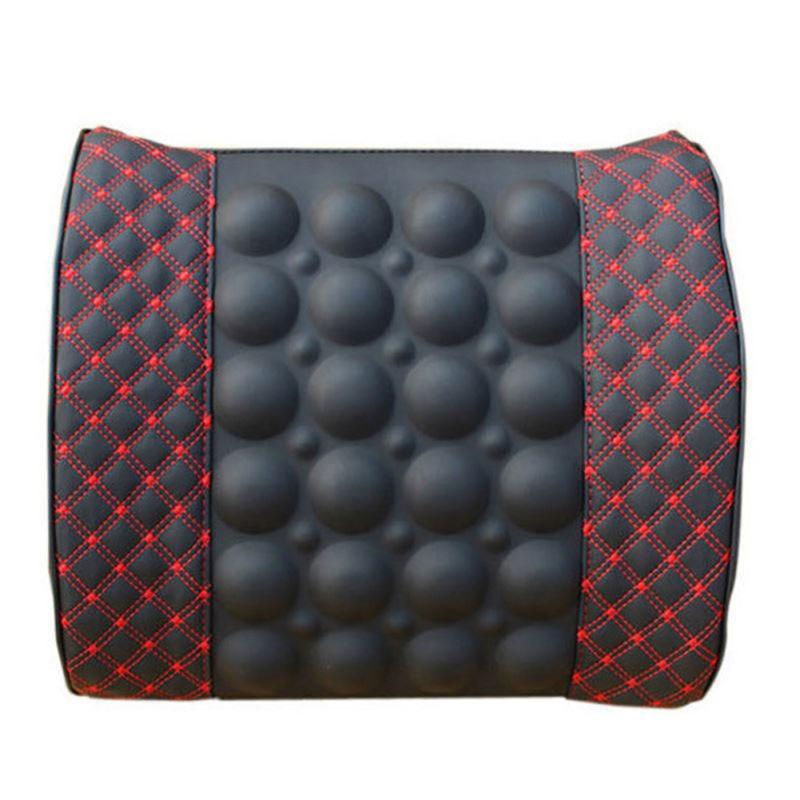 Wine Black Car Vibrat Massage Pillow Wrist Protect Antistress Car Massageador Pillow Dropship ritmix rom 340 antistress black мышь