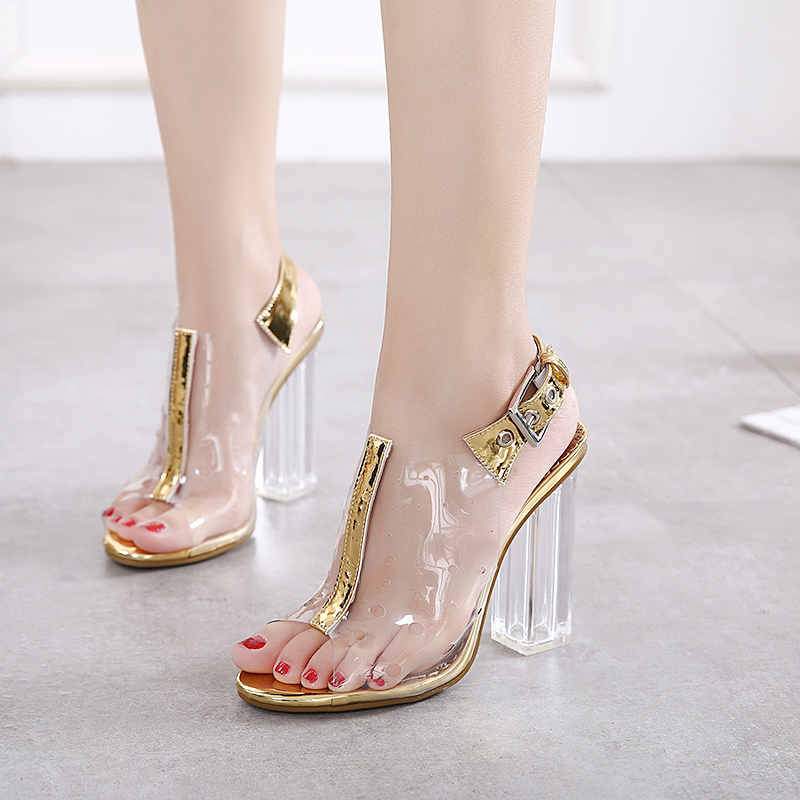 2017 Summer Hot Sale Sexy Women High Heels Transparent Shoes Sandals Open Toe PVC Metal Buckle Lady Pumps For Party 34 to 40 500pcs 0402 1005 390nh chip smt smd multilayer inductors