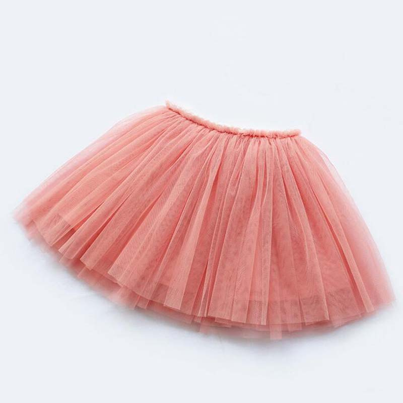 girls skirts princess lovely tutu skirts for 1-12Years kids spring summer clothes 11 color short girls lace skirts dance clothes 3