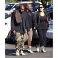 Hip hop conexão fábrica de roupas masculinas militar tático de carga calças moda casual kanye west camuflar corredores yeezy