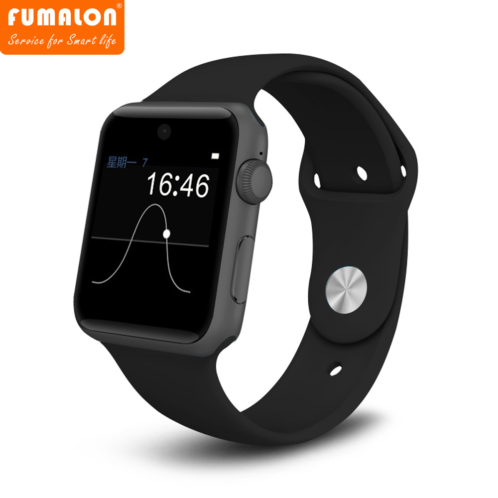 Smart Watch DM09 Bluetooth SmartWatch 2.5D ARC HD Screen Support SIM Card Wearable Devices Smartphone Fitness Tracker 2016 bluetooth smart watch dm09 hd screen support sim card wearable devices smartwatch for ios android pk dm08 gt08 dz09
