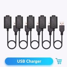 Kwarcowy Banger USB ładowarka kabel dla EGO eGo-T eGo-C eGo-W eGo-F bateria 4 2 V akcesoria do elektronicznego papierosa 5 sztuk partia tanie tanio Quartz Banger Elektryczne USB Charger eGo eGo-T eGo-C eGo-W eGo-F Black 4 2V 420mA