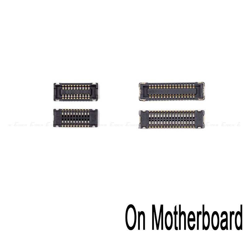 New Touch Screen LCD Display FPC Connector For IPad 2 3 4 5 Air 6 Air2 Mini 1 2 3 4 Board Connector On Motherboard Mainboard