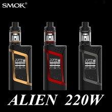 Electronic Cigarette Smok Alien Kit Vape Box Mod for TFV8 Baby Tank 220W Vaporizer elektronik sigara Hookah E Cigarette X1110