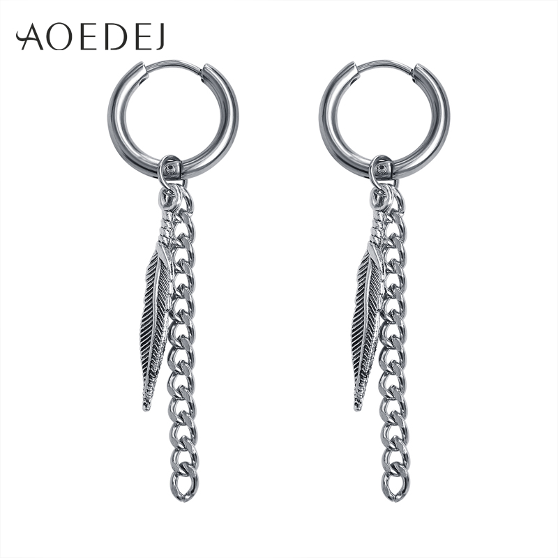 aoedej bts long tassel hoop earrings for men women free