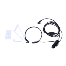 Throat Microphone Walkie Talkie Headset PTT for Portable CB Radio Baofeng UV-5R UV 82 GT-3 UV-B5 UV B6 UV-5RE Plus BF-888S