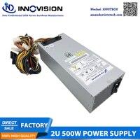 80 Plus Slive FSP500 702UC 2U 500 W IPC Сервер питания двойной 8 контактов