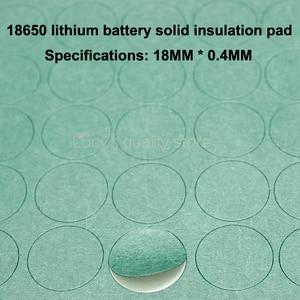 Image 4 - 100 шт./лот 18650 литиевая батарея, отрицательная твердая изоляционная прокладка 1S, Молодежные бумажные сетчатые прокладки, детали для батарей в сборе, сделай сам