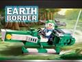 Gudi frontera tierra star wars educativos bloques de construcción de juguetes para los niños regalos robot moto compatible con legoe