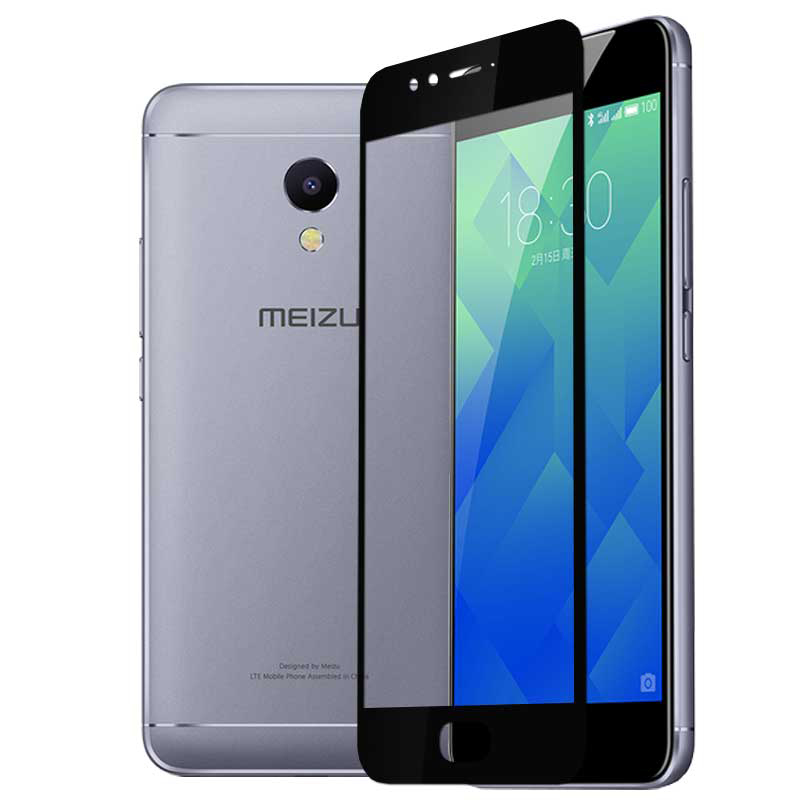 imágenes para 25 Unids/lote Cobertura Completa Protector de Pantalla Para Meizu M5S Mini Protectores Para la Película de Cristal Templado Para Meizu M5S Mini