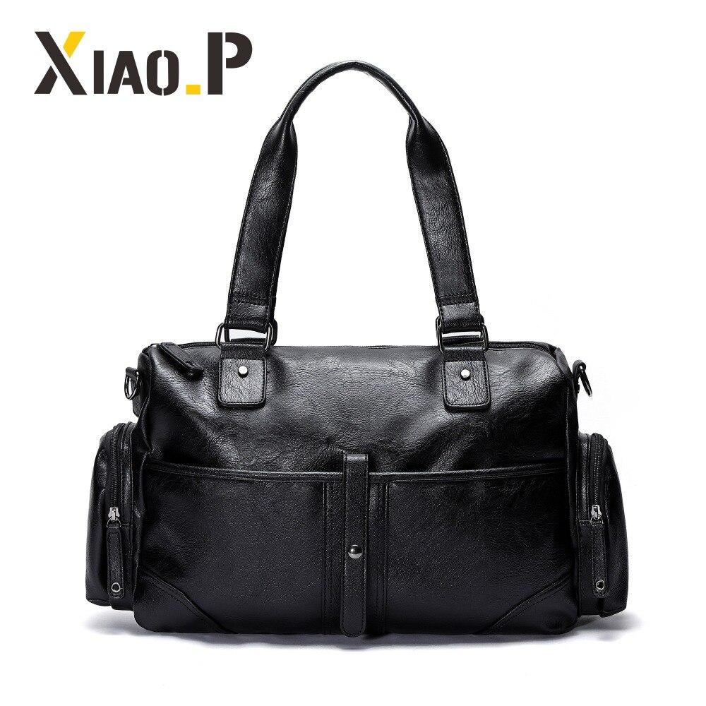 Brand men travel bag high quality duffel bag black tote man handbags business men messenger shoulder crossbody bags цена