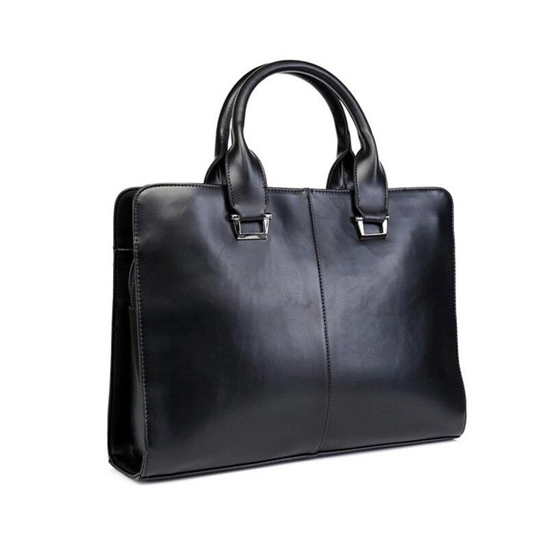 Nouveau sac à main sac d'affaires PU modèles jeune sac à bandoulière Messenger haut de gamme mallette pour hommes