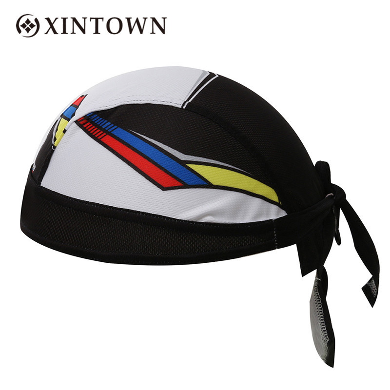 2017 Xintown Cycling Caps Mesh Fabric One Size High-elastic Womens Mens Headwear Sports Leisure Yoga Hip-hop Fitness Headband