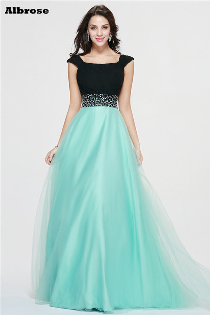 Abendkleid in mint