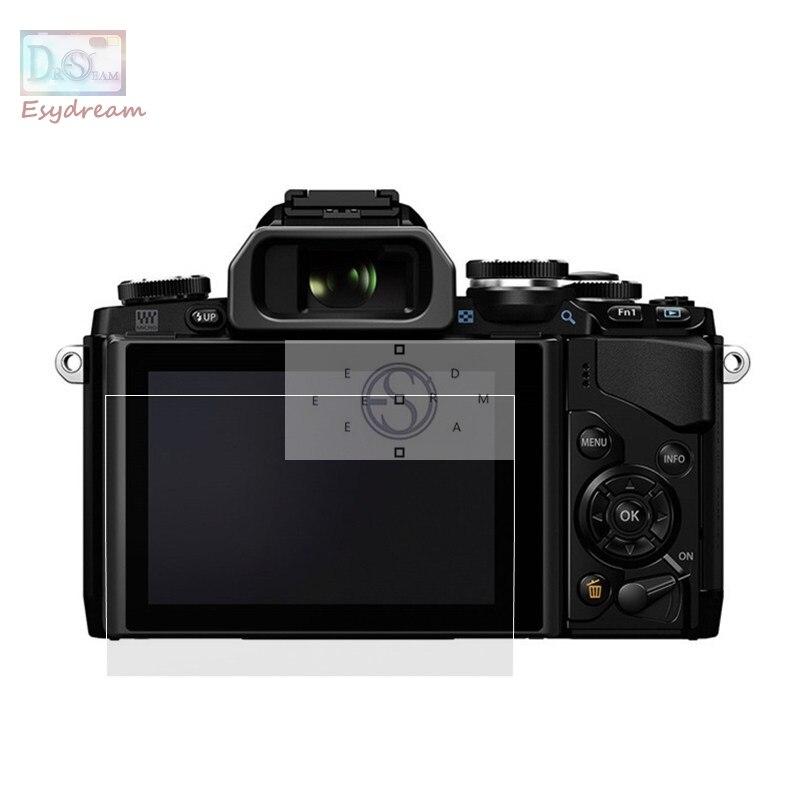 Auto-adhésif En Verre LCD Écran Protecteur Couverture pour Olympus OM-D E-M1 E-M5 E-M10/E-M5 E-M10 E-M1 Mark II /E-M10 Mark III EM5