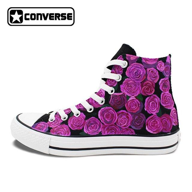 zapatillas mujer converse flores