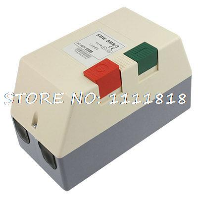 AC 380V 6-9A 4.5HP Three Phase Adjustable Motor Control Magnetic StarterAC 380V 6-9A 4.5HP Three Phase Adjustable Motor Control Magnetic Starter