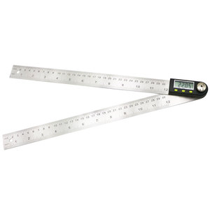 Image 2 - shahe 200 mm Digital Protractor Inclinometer Electron Goniometer Angle Ruler Stainless Steel Digital Level Measuring Tool