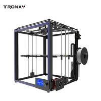 2019 Новый TRONXY X5S I3 3D принтеры комплект принтер алюминиевый штранг прессования 3d печати