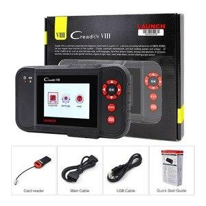 Image 5 - Uruchomienie X431 Creader VIII 8 obd2 EOBD kod czytnik tester ENG/ABS/SRS/poduszka powietrzna + hamulca/ SAS/funkcja reset oleju darmowa aktualizacja