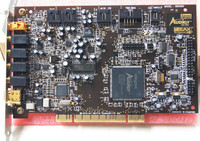 Original Disassemble For Creative Sound Blaster Audigy SB0090 PCI 5 1 Sound Card 100 Working Good