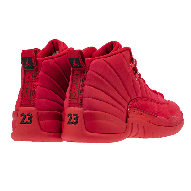 215408ced729 ... Hot Jordan Retro 12 Gym Red WNTR All Black Basketball Shoes Outdoor  Sport Sneakers High Cut