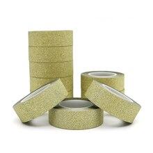 Masking-Tape Hand-Account-Tape Glitter Gold Flash-Stickers Album-Decoration Adhesive