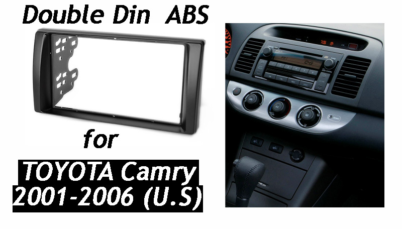 Double Din Fascia For Toyota Camry Radio Dvd Stereo Panel Dash Rhaliexpress: 2003 Toyota Camry Radio Kit At Taesk.com