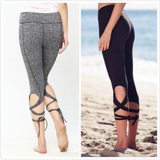 33de081a29477 Women's Sportswear Gym Yoga pants Ballet Spirit Bandage Workout infinity  Turnout Running Leggings For Women Lavender For Dance
