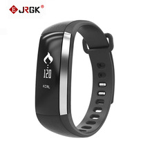 Jrgk M2 Bluetooth 4.0 Smart Браслет Смарт монитор сердечного ритма браслет спортивные группы фитнес-трекер часы для Android я