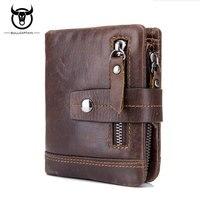 BULL CAPTAIN 2017 New Arrival Genuine Leather Men S Wallet European Style Bifold Wallets Multifunction Men