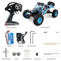 JJRC Q39 RC Car 1:12 Electric 2.4G 4WD 35KM/H highlander Short Course Monster Truck Rock Crawler Off Road RC Automobile Toys