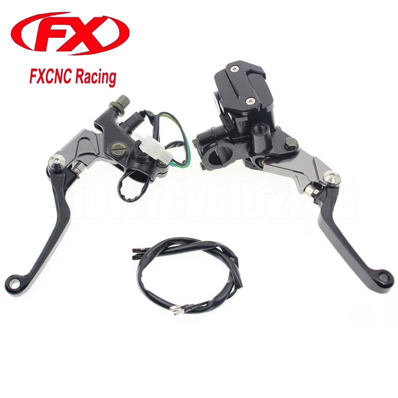 7/8 22mm Universal Motocross Dirt Bike Brake Clutch For Yamaha WR250F WR450F 2001-2015 02 03 04 05 06 07 08 09 Hydraulic Brake браслет power balance бкм 9678