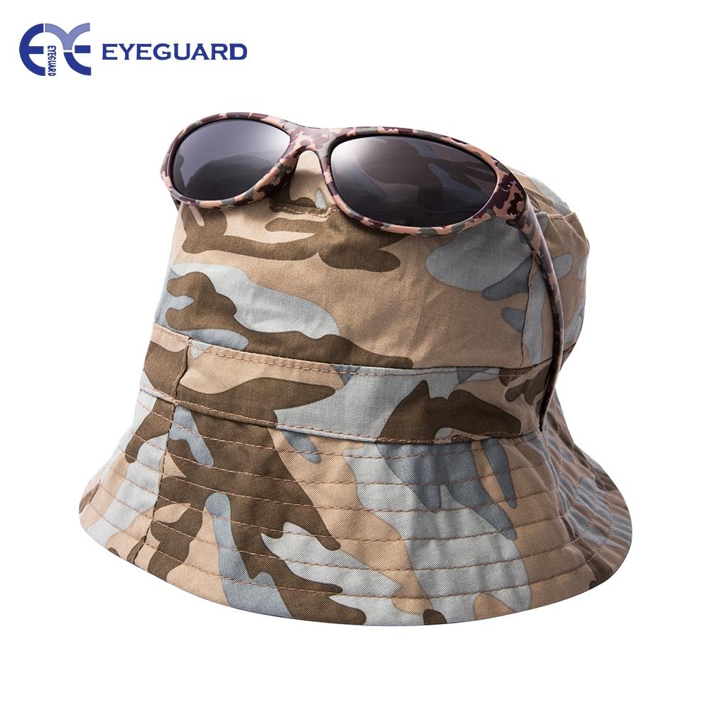 EYEGUARD UV400 Boy dětské sluneční brýle a džungle maskují sluneční čepice Combo Children