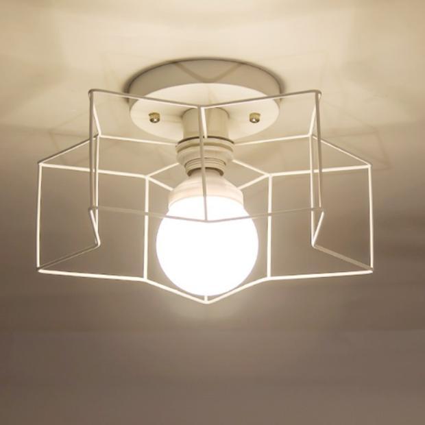 Led eenvoudige idee vijfpuntige ster verlichting moderne slaapkamer ...