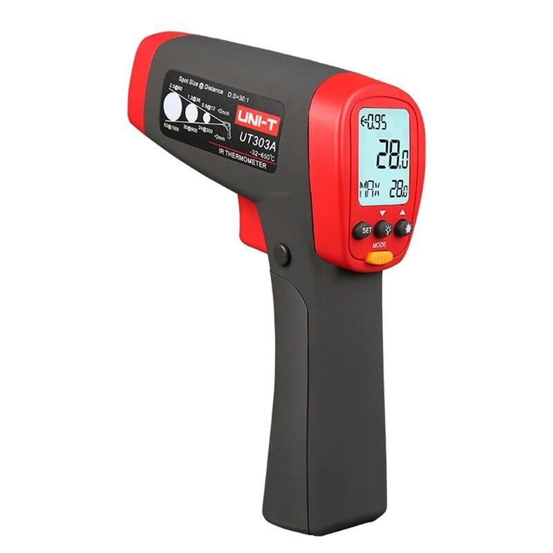 UNI-T UT303A UT303C UT303D Handheld Non-Contact IR Infrared Laser Digital <font><b>Thermometer</b></font> Temperature Gun Tester High Accuracy