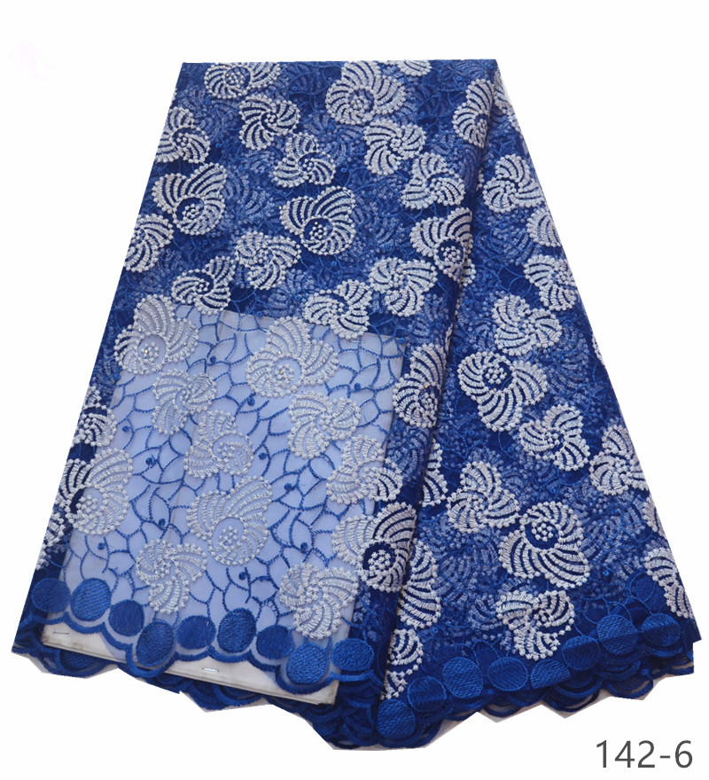 High Quality African Lace Fabric Net 2019 French Lace Fabric Tulle With stones Nigerian Lace Fabric For Wedding 142 in Lace from Home Garden