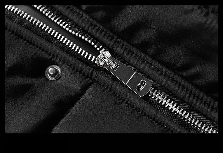 Großhandel 2018 Winter Herren Daunenjacke Parka Bekleidung Jacken Herren Lange Abschnitt Mantel Männlich Parkas Fashion Mantel Multicolor Optional Von