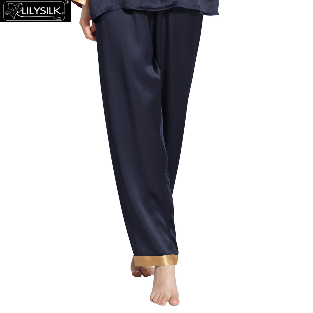 1000-navy-blue-22-momme-gold-cuff-mulberry-silk-pajama-pants-01