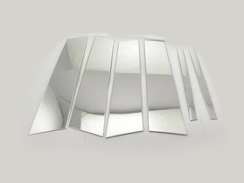 For Benz GLA X156 2014 2015 center pillar window trim 6pcs