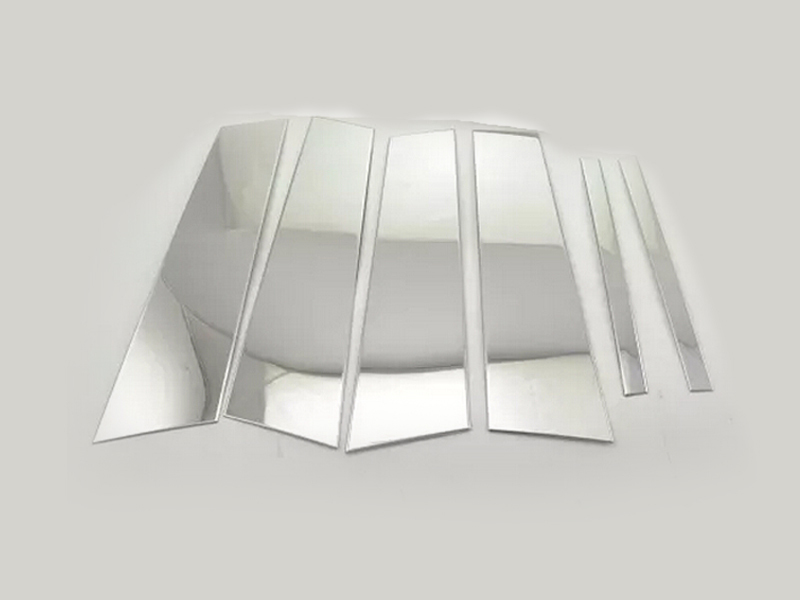 Pour Benz GLA X156 2014 2015 garniture de fenêtre de pilier central 6 pièces